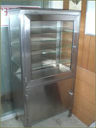 Vintage 1950 S Metal Kitchen Cabinet Enamel Top Ebay by Steel Kitchen Cabinets Vintage Interior Design