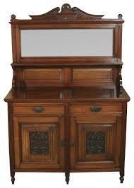 antique victorian walnut buffet sideboard server victorian