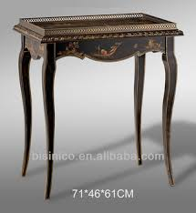 Painted Console Table Antique Hand Painted Console Hall Table Exquisite Wood Carved