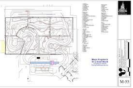 disney world floor plans disney park blueprints its a small world mk disney pinterest