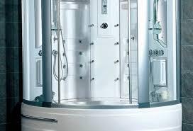 Steam Shower Bathtub Shower Wonderful Corner Steam Shower Tub Combo Full Image For