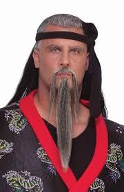 Halloween Makeup Beard by Grey Warrior Beard U0026 Moustache Costume Craze
