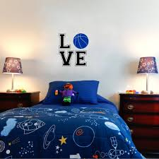 Sports Decals For Kids Rooms by Aliexpress Com Buy Love Basketball Wall Stickers Sport Vinyl