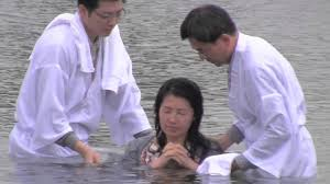 are you saved do you have sin water baptism according to the