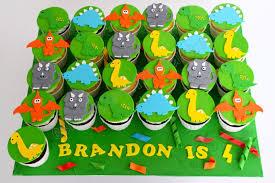 dinosaur cupcakes celebrate with cake dinosaur cupcakes