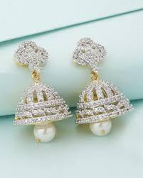 jhumki style earrings jhumkas earrings jhumki style earrings online shopping india