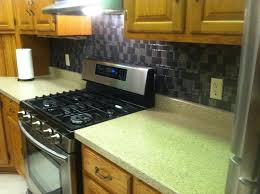 Onyx Kitchen Backsplash by New Counter Top And New Peel And Stick Backsplash By Our Friends