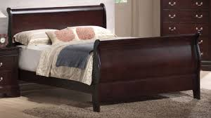 bed appealing queen sleigh bed frame big lots imposing metal
