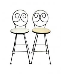 Wrought Iron Bar Stool Wrought Iron Swivel Bar Stools Foter