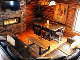 log home interiors photos beautiful log cabin retreat outdoor activ vrbo