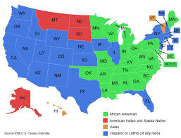 Color Map Of The United States by Explain Two Theories Of Prejudice On Individuals Writework
