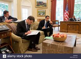 Obama Oval Office Decor President Barack Obama Talks With Senior Advisers In The Oval