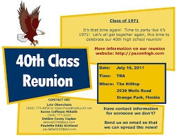 Invitation Card For Reunion Party Reunion Invitation Templates Youtuf Com