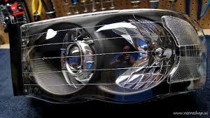02 dodge ram headlights so what does retro shop do dodge ram srt 10 forum