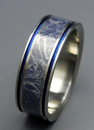 blue titanium wedding band best 25 titanium rings ideas on titanium ring