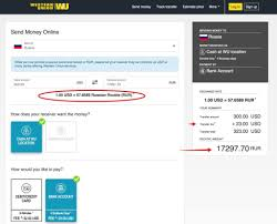 how to send money to russia westerunion paypal or transferwise
