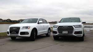lexus vs audi q7 audi q5 vs q7 suv comparison baxter auto news