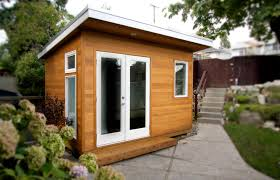 Backyard Office Building A Custom Built 8x12 Studio Fully Wired For Media And Office Use