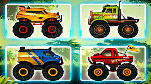 monster truck video for kids jungle monster trucks for kids race monster trucks compilation