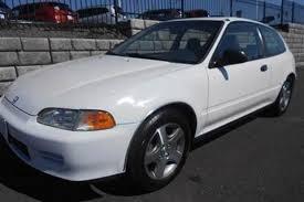 1995 honda civic hatchback autotrader find one owner 1995 honda civic hatchback with acura