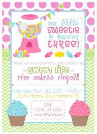 candy themed birthday party invitations dolanpedia invitations ideas
