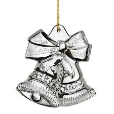 waterford our ornament 2016 silver