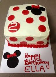 Red Minnie Mouse Cake Decorations Minnie Mouse Cake My Inner Fat Kid Pinterest Mouse Cake