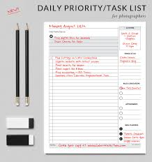 task planner template daily priority task list get organized today with this amazing daily planning and task list colorvale actions