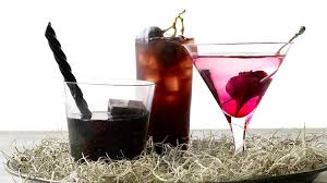 Cherry Cocktail Party Effect - black lagoon cocktail recipe