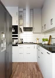 cabinets u0026 drawer scandinavian kitchen black counter white