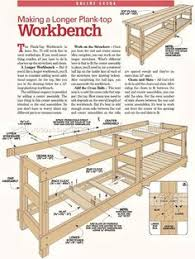 Woodworking Bench Top Plans by How To Build A Workbench Out Of 2x4 And Plywood That Folds Up