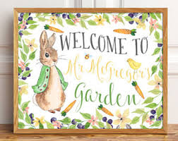 mr mcgregor s garden rabbit mr mcgregor garden etsy