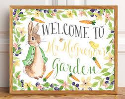 mr mcgregor s garden rabbit mr mcgregor garden etsy