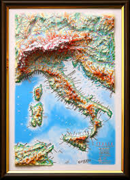 map of italy images raised relief map of italy