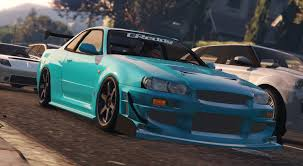 nissan r34 fast and furious latest gta 5 mods skyline gta5 mods com
