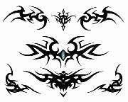free lower back tattoo design