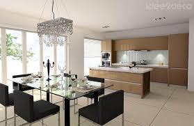salon et cuisine moderne amenagement cuisine salon salle a manger c3 a0 bar petit dejeuner