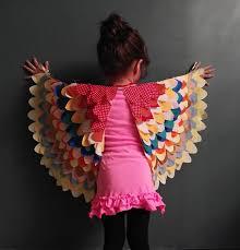 dress bird wings bird wings pattern fabric psych