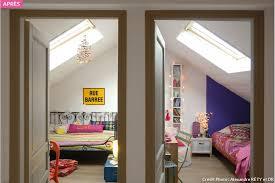 chambre sous comble aménagement combles chambre sous les toits maison créative