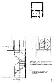 drawing perspective elevation and plan view of a double spiral