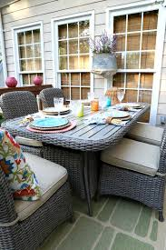 Martha Stewart Lake Adela Patio Furniture by Savvy Southern Style The Other Side Of The Deck Reveal