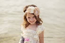 how to do the country chic hairstyle from covet fashion ehow vintage shabby chic flower girl headband flower girl hair piece