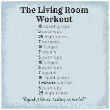 an indoor workout routine to do with the seasoned