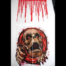 Scary Halloween Skeleton Realistic Dead Pet Zombie Skeleton Pit Bull Dog Creepy Halloween