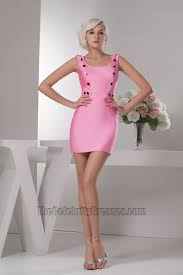 pink mini party graduation homecoming dresses