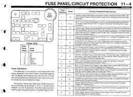 1993 ford ranger fuse diagram 1993 wiring diagrams instruction