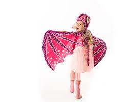 Pink Butterfly Halloween Costume Butterfly Wings Fairy Wings Halloween Costume Gold Sparkle