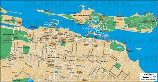 Map Bahamas Printable Map Of Nassau Bahamas Printable Maps