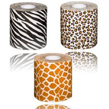 leopard print tissue paper safari toilet paper whaaat pretty to wipe with p neat
