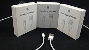 apple lightning to usb cable first look youtube